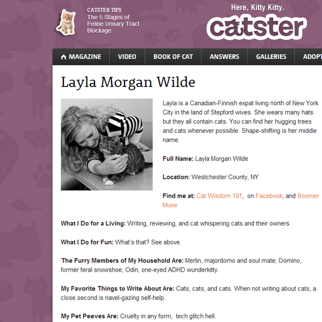 layla press catster