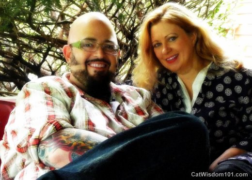 Former boyfriend and girlfriend couple: Jackson Galaxy and Jill Delzer