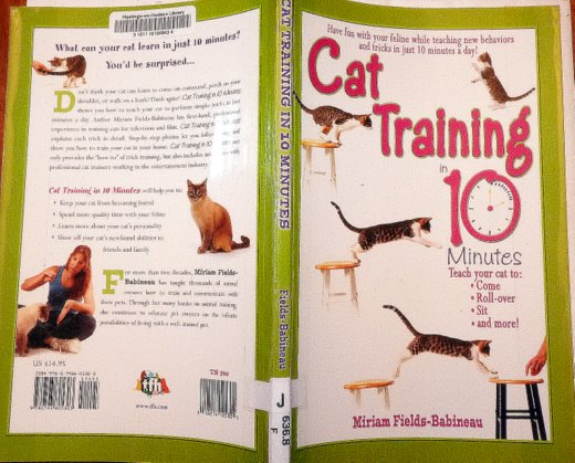 Cat-training-in-10-Minutes-book