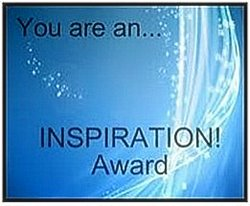 you are an inspiration award