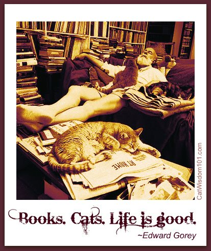edward gorey-cats-books-quote