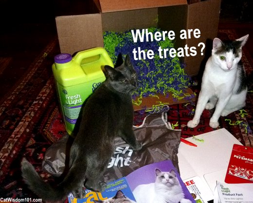 Cat's pride-fresh & Light litter-humor- temptation treats