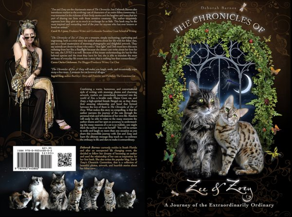 Chronicles of Zee & Zoey- book review- cat wisdom 101-Layla Morgan Wilde