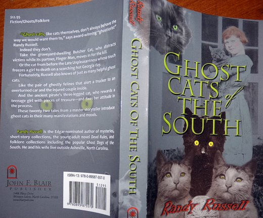 ghost-cats of the south-book