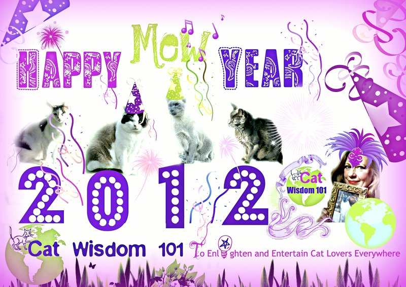 Happy mew year-happy new year-card-cats-catwisdom 101