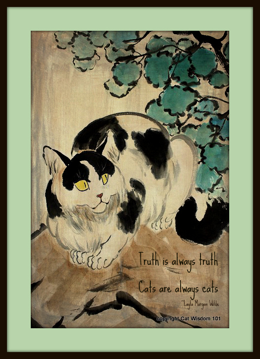 art-cat-painting-quote-giveaway-truth-zen