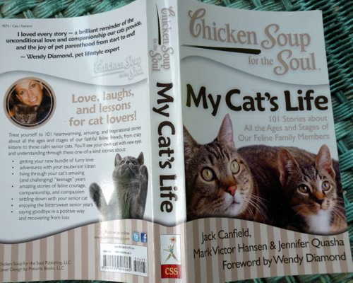 My Cat's Life-chicken soup for the soul-giveaway