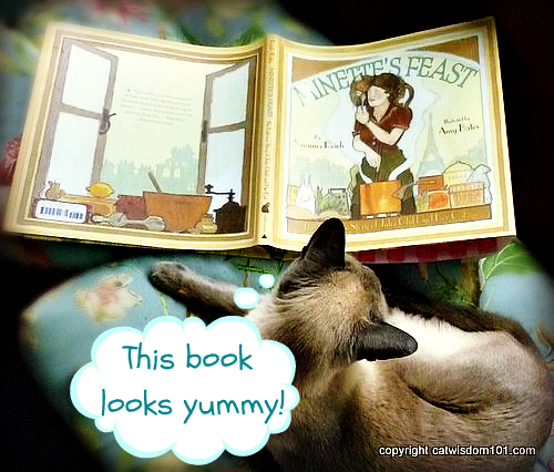 Minette's Feast-book-cat-review-julia child