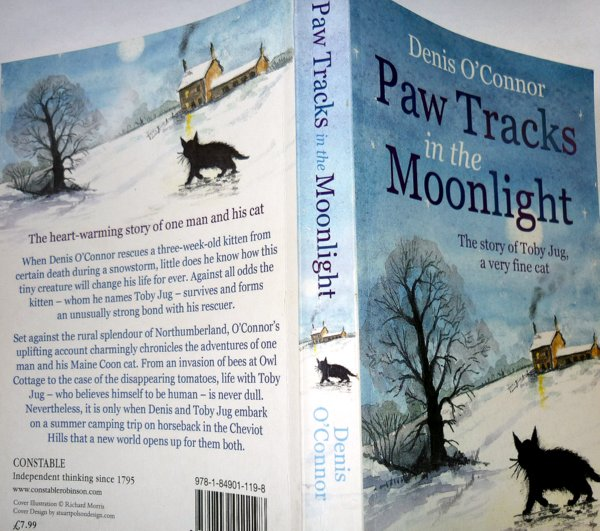 paw prints in the moonlight-denis o'connor-book-review-cats-layla morgan wilde