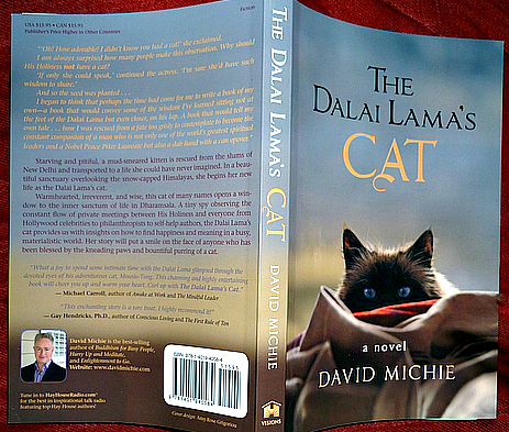 The Dalai Lama's Cat- David Michie-review-cat-novel