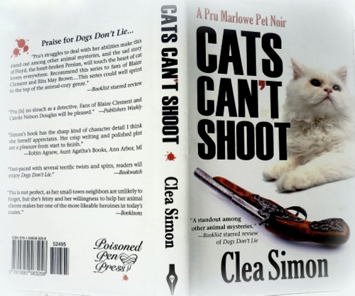 cats can't shoot-clea simon-review-giveaway