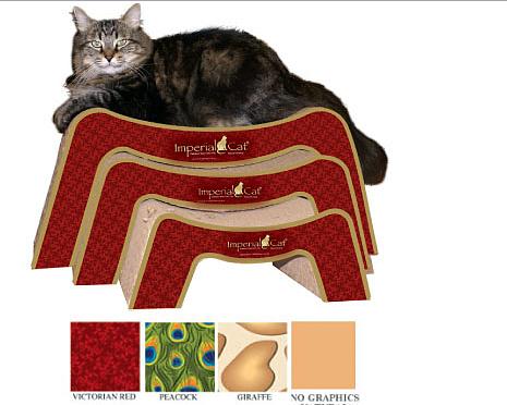 imperial cat-snooze n scratch-scratcher