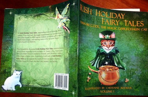 Irish-Holiday- fairy tales-finn mccool-magic-leprechaun-cat