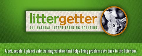 Litter Getter- litter box solution-attractant