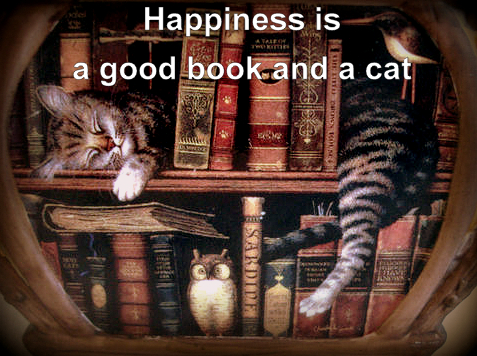 happiness-quote-cats-books
