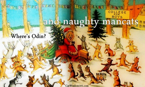 vintage-cats-christmas-mancats