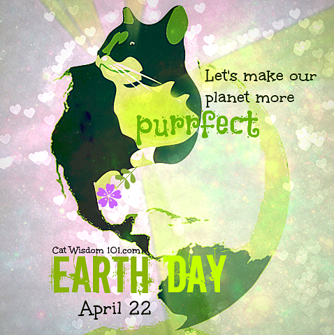 earth day-cats-quote- april 22-purrfect