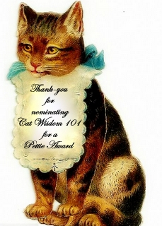 pettie awards-cat wisdom 101.bmp