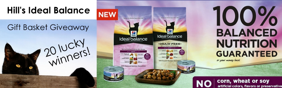 Hill's® Ideal Balance™ Gift Basket Giveaway with 20 Winners!