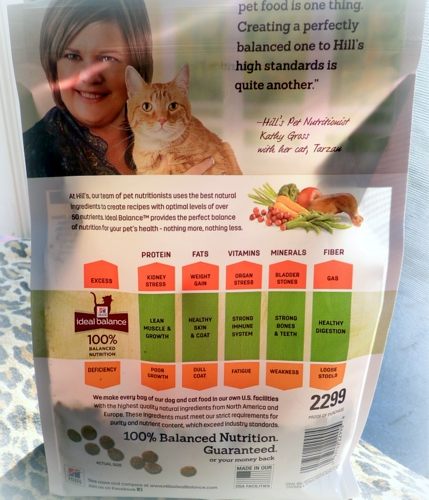 New hills ideal balance cat food is a natural hills pet nutritionist kathy gross 001 forumfinder Gallery