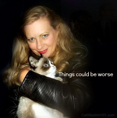 Grumpy Cat and Layla Morgan Wilde