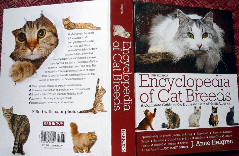 Encyclopedia of Cat Breeds Giveaway