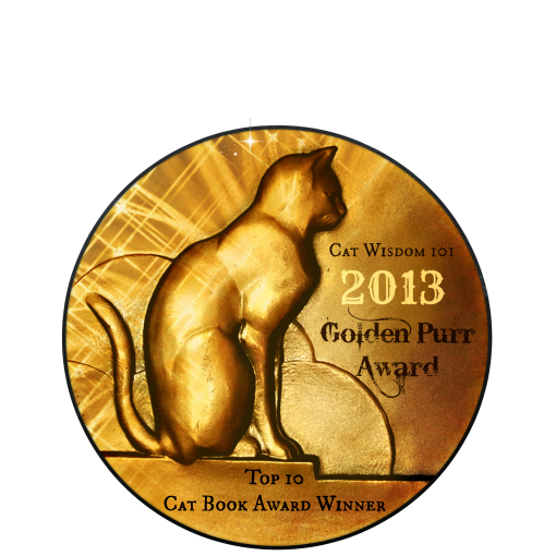 2013 Cat Wisdom 101 Golden purr awards-best cat books