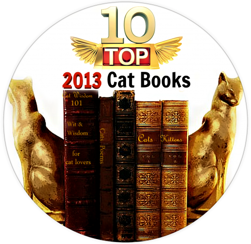 2013 top 10 cat books- Golden Purr Awards
