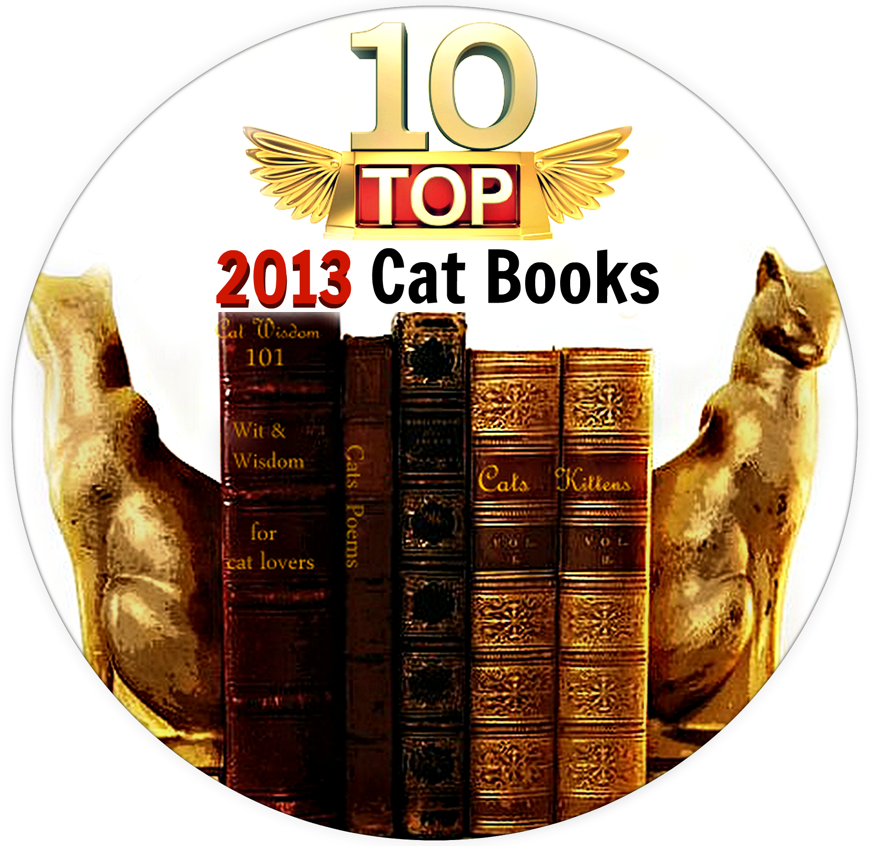 Cat Wisdom 101: Golden Purr Awards -Top 10 Cat Book of 2013