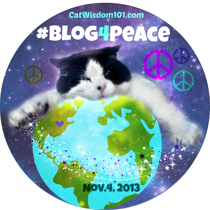 domino peace globe blogger