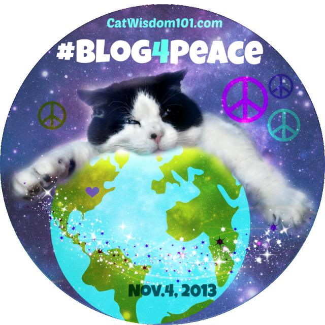 domino peace globe blogger