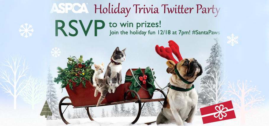 ASPCA twitter party