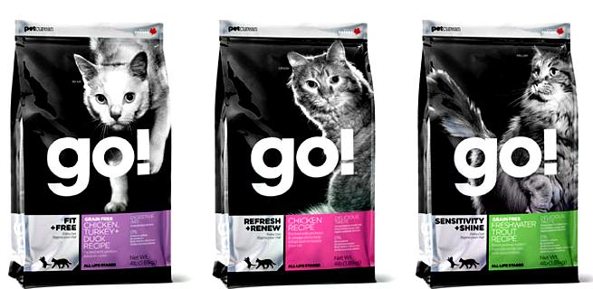Petcurean cat food Go!