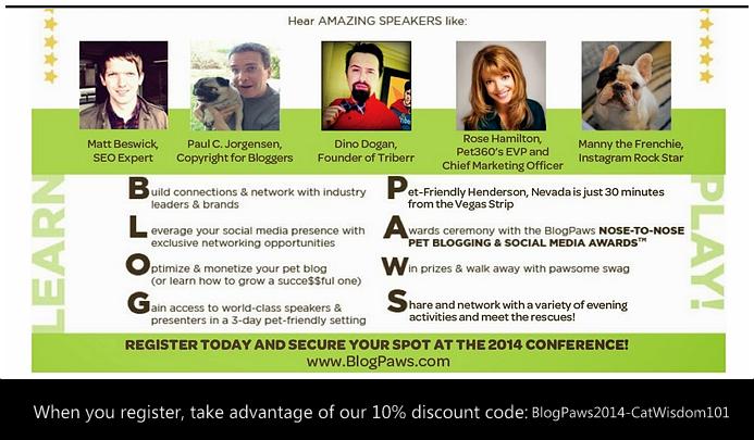 Blogpaws 2014 discount code