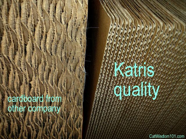 Katris comparison cardboard