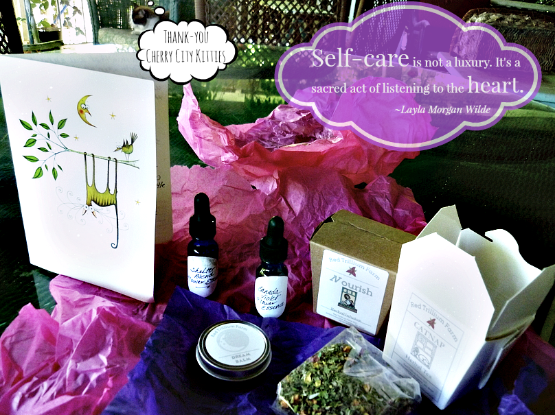 Red Trillium farm-self care package