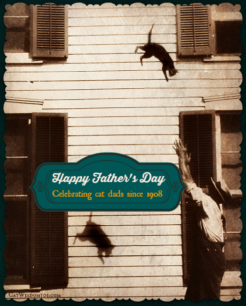 vintage-cat-dad-rescue-father's day