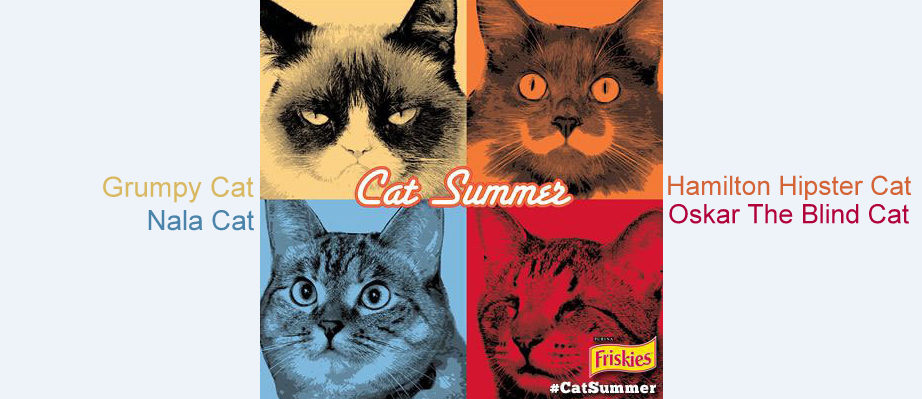 La, Laa, Laaa, it's #Catsummer