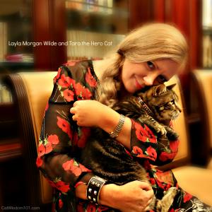 Layla Morgan Wilde-Tara the hero cat