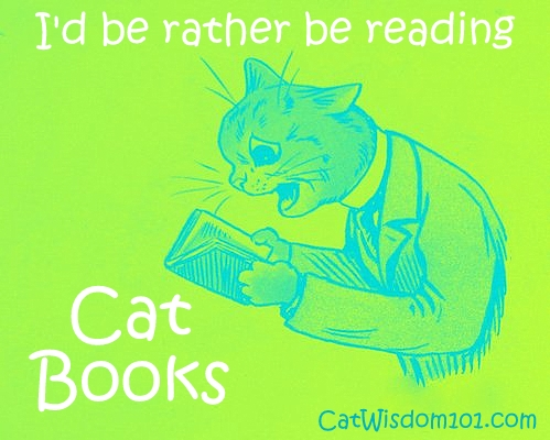 It's National Read A Book Day & Cats