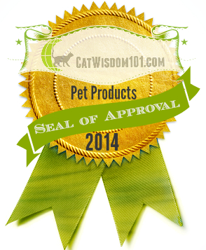 Cat Wisdom 101 seal of approval-pet products