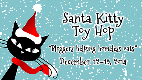 santa kitty toy hop-cat bloggers