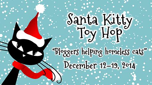 santa kitty toy hop-cat bloggers