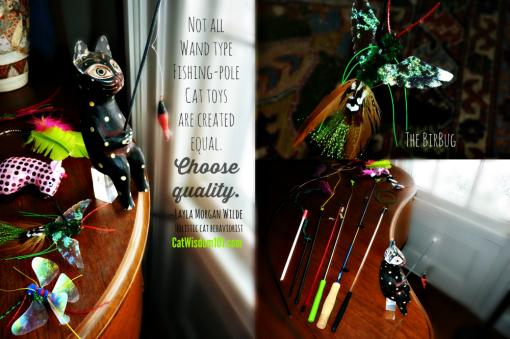 wand toys cats-birbug