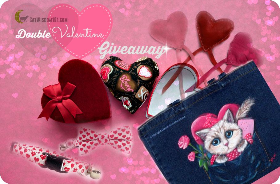 Double The Love: Valentine Giveaway For Cat Lovers