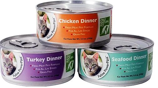 Only natural pet powerpate cat food