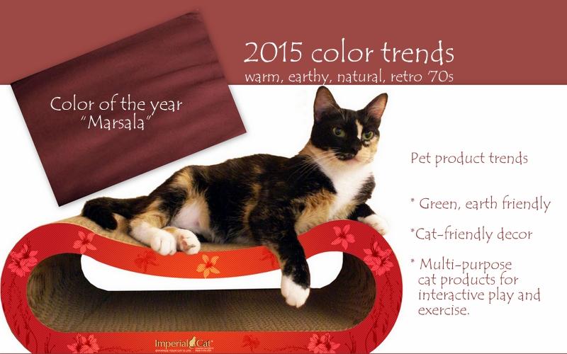 pantone 2015 color-Imperial cat-global pet expo