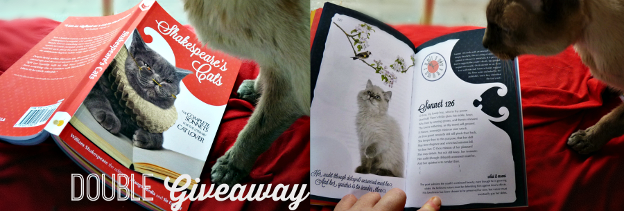 Shakespeare Cats and Zen Cats Book Giveaway +