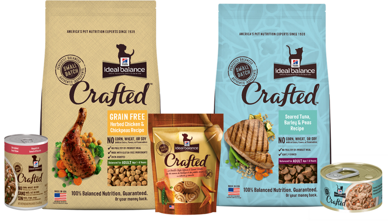Hill's Ideal Balance Crafted Cat food #Inspiredbycrafted