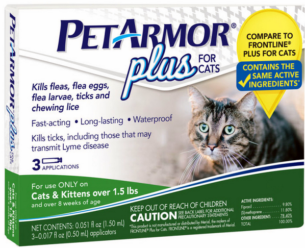 Purrfect #PetArmorPlus 3-Month Supply Giveaway
